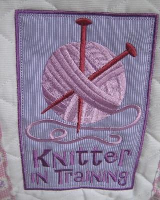 motif sac à tricot