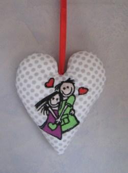 les amoureux 1 - coeur de bébé