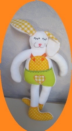 lapin ITH debout