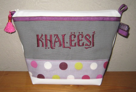 trousse de toilette kahleesi games of thrones