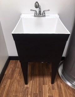 utility sink diy faux urban farm