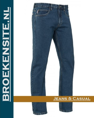Brams Paris Gibson stone washed med BP 1.331-A52 Broekensite jeans casual