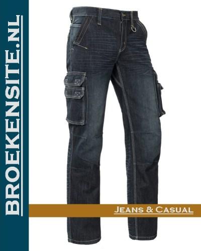 Brams Paris Willem sand blast dark BP 1.3580-A82 Broekensite jeans casual