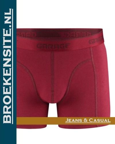 Garage boxershort Kansas red G 0801-KRED Broekensite.nl jeans casual
