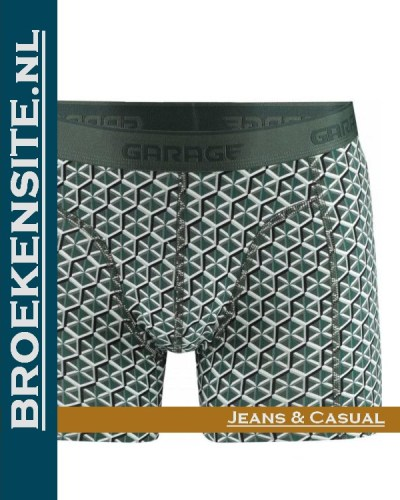Garage boxershort Nevada green G 0802-NV Broekensite.nl jeans casual