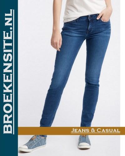 Mustang Jasmin Jeggins denim blue M 1006281 - 5000 - 502 Broekensite jeans casual