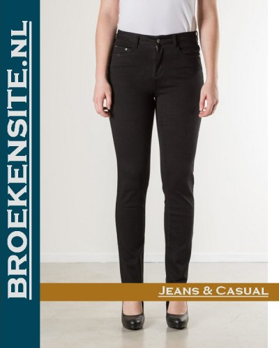 New Star Linosa stretch twill black NL 999-LINOSA-95-101 Broekensite jeans casual