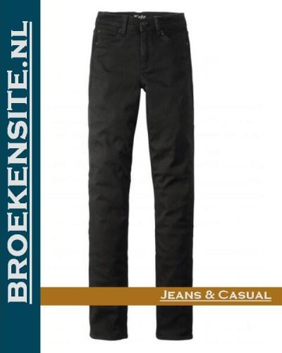Paddocks Kate motion-comfort black P 603343503000 - 6001 Broekensite jeans casual