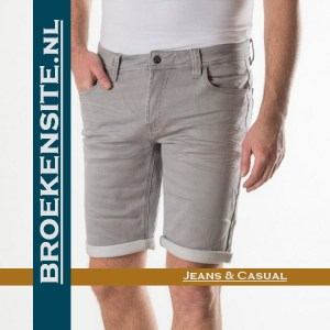 New Star Valero jogging jeans kort grey NS - 0201-VALERO-168-104 Broekensite jeans casual