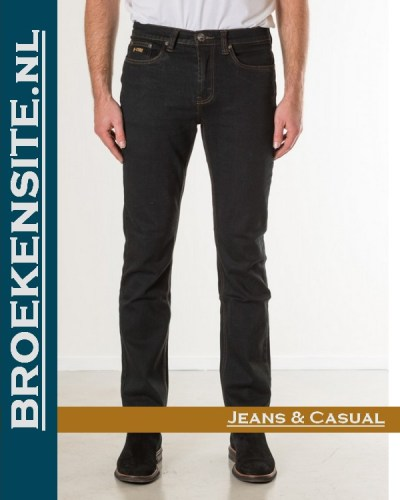 New Star slim fit stretch blue black NS - 999-JACKSONVILLE-23-64 Broekensite jeans casual