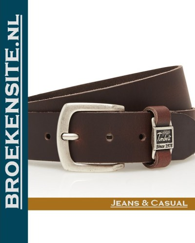 Riem Excellent handgemaakt bruin TB 460-BR Broekensite jeans casual