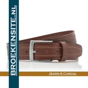 Riem Superieur handgemaakt cognac TB 34740-CO Broekensite jeans casual