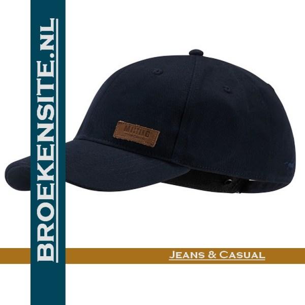 Cap navy Caps Mustang petten pet baseballcap Broekensite
