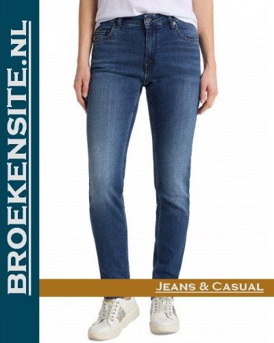 Mustang Sissy Slim denim blue medium wash 1009317 5000-502 Broekensite jeans casual
