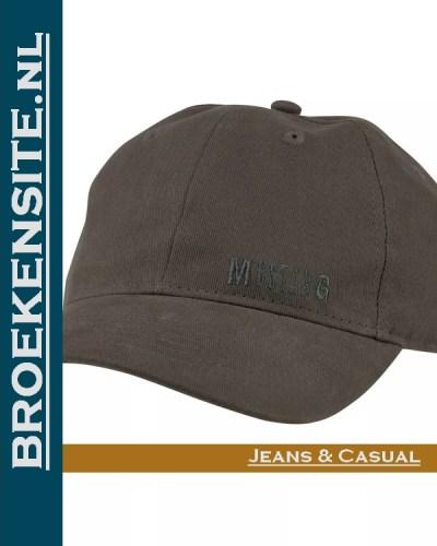Cap grijs jeans Caps geborduurd logo Mustang petten pet baseballcap Broekensite