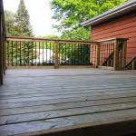 Gravenhurst Deck After Construction Decking