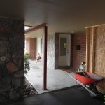 Sunset Drive Existing Carport Entry to Home