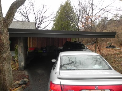 Sunset Drive Existing Carport Front View