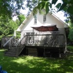 Innisfil Deck Rebuild - Before Construction Front Right View