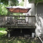 Innisfil Deck Rebuild - Before Construction Right Side View