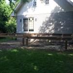 Innisfil Deck Rebuild - During Construction Steel Pile Foundation