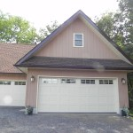 Partridge Bay Garage After Construction Front