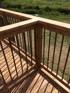 Uxbridge Deck - After Construction Intermediate Railing
