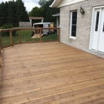 Uxbridge Deck - After Construction New Decking