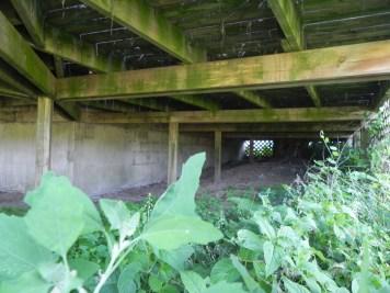 Uxbridge Deck - Before Construction Beam Supports
