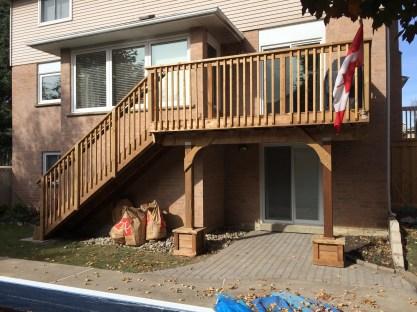 Aurora Deck After Construction Front View