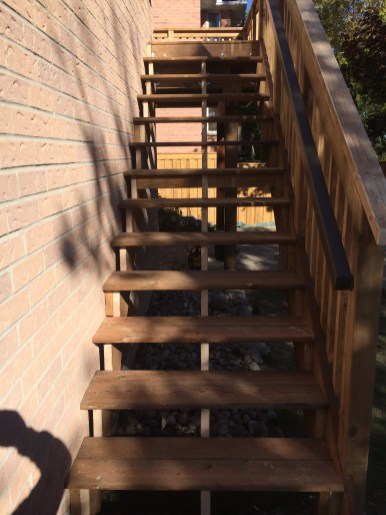 Aurora Deck After Construction New Stairs