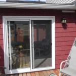 Lively Sunroom Addition Door from Deck