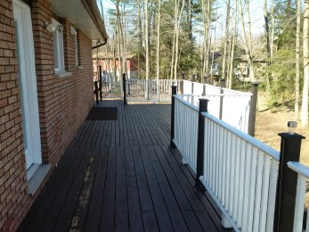 Tiny Deck Before Construction From Deck