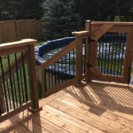 Keswick Pool Deck #2 - After Construction Pool Gate From Deck