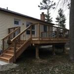 Angus Deck - After Construction Front Left View