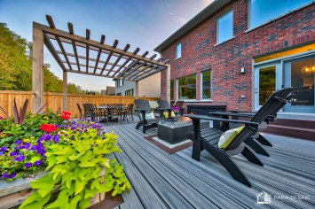 Courtice Deck - Lounge and Pergola