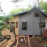 NML Cottage - During Construction - Rear