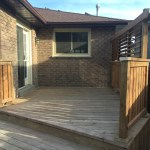 Bradford Deck - After Construction Front View