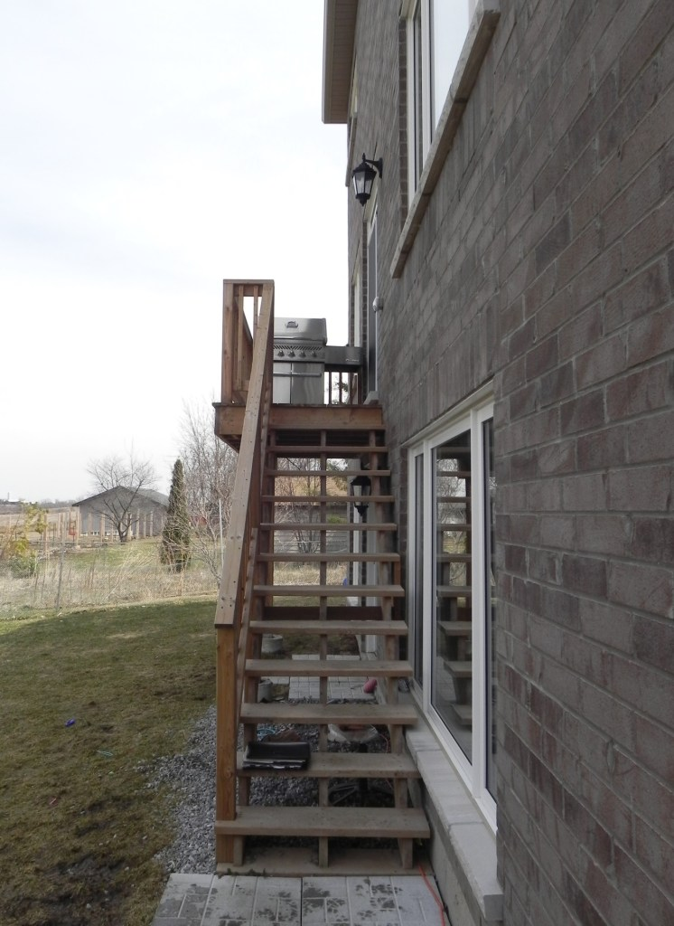 Keswick Deck 4 - Before Construction Right Side View