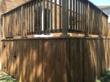 Bradford Deck 2 - After Construction Access Door