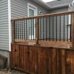Kawartha Lakes Deck - Storage Enclosure Hatch