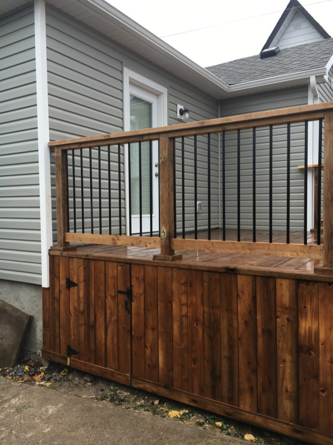 Kawartha Lakes Deck - Storage Enclosure Hatch