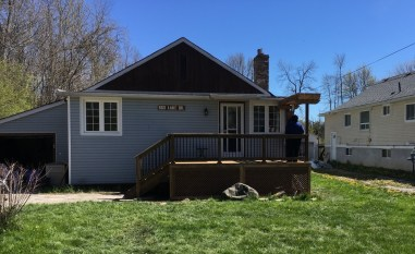 Willow Beach Deck 2 - After Construction Front View