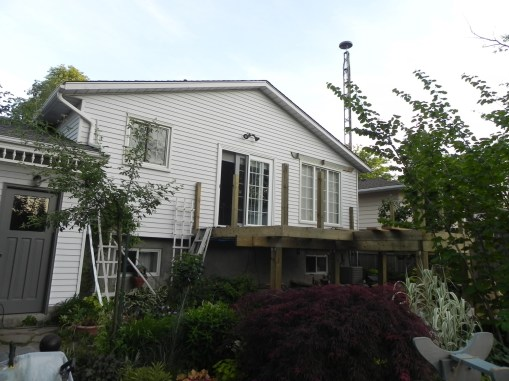 Niagara Deck - During Construction Front Left View