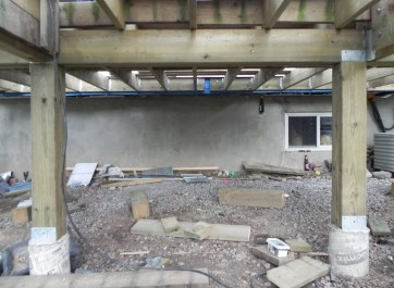 Niagara Deck - During Construction Under Deck 4