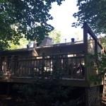 Bracebridge Porch - Before Construction Right Corner