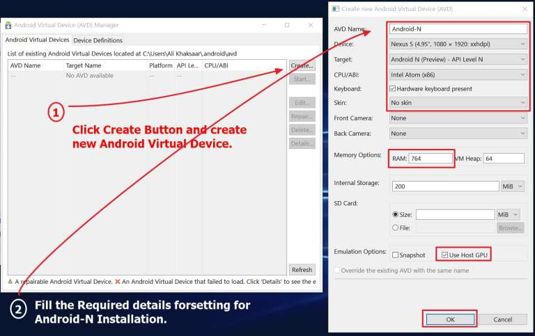 Create-New-Android-Virtual-Device