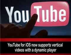 YouTube Update for Vertical Videos