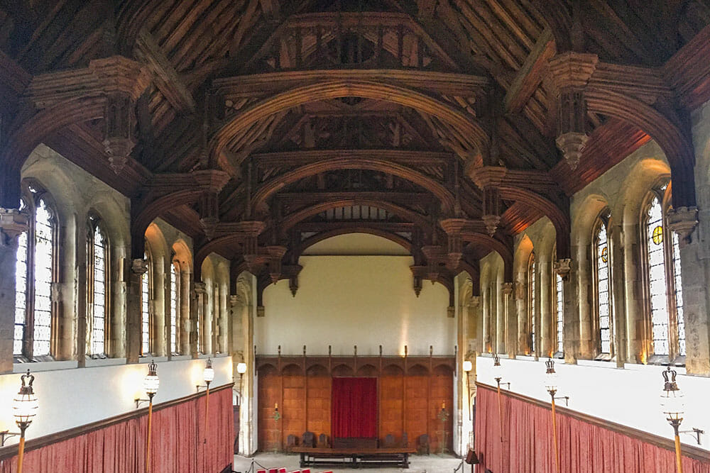 Eltham Palace Great Hall London UK