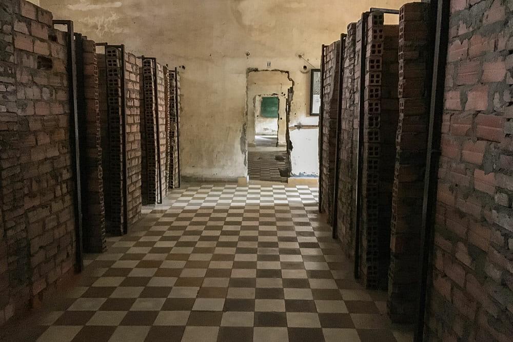 S21 Prison Cells Cambodia